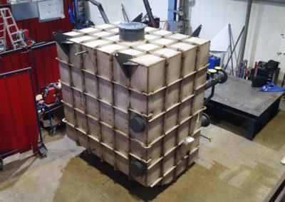 Exhaust Gas Heat Exchanger example